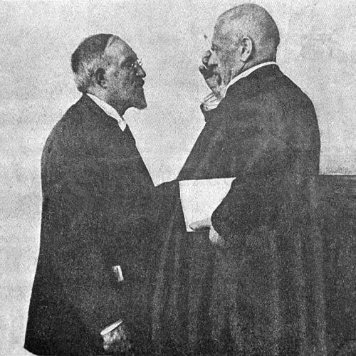 """Илюстрация из Журнала """"Искры"""" №32 от 20.08.1917 г."""