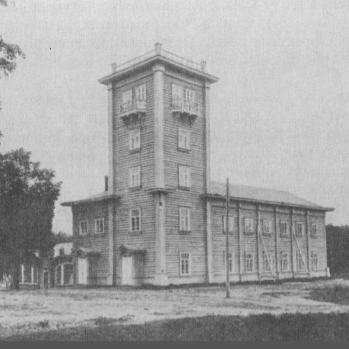 Здание первого в Европпе и второго в мире Кучинского института гидроаэродинамики