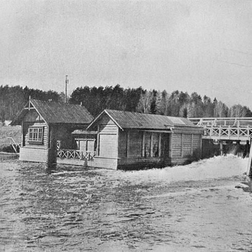 Кучино, Гидролаборатория на реке Пехорка 20-е годы