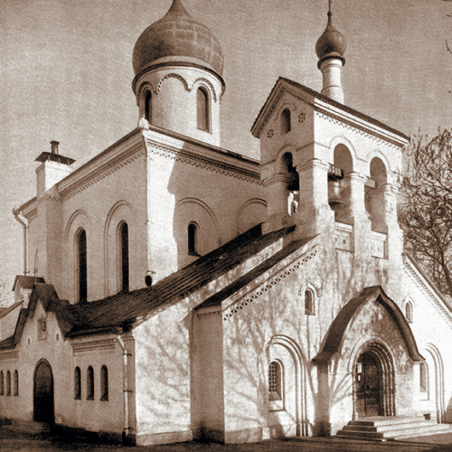 Храм во имя Покрова Пресвятыя Богородицы Остоженской старообрядческой общины