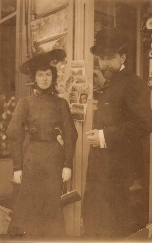 Ефимия Павловна Носова (Рябушинская), (1881-1976) месте со своим супругом Василием Васильевичем Носовым