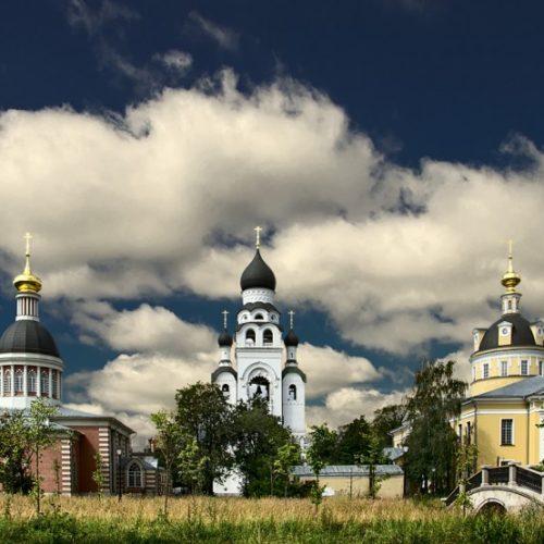 Современная фотография Рогожской общины старообрядцев, к которым принадлежали Рябушинские.
